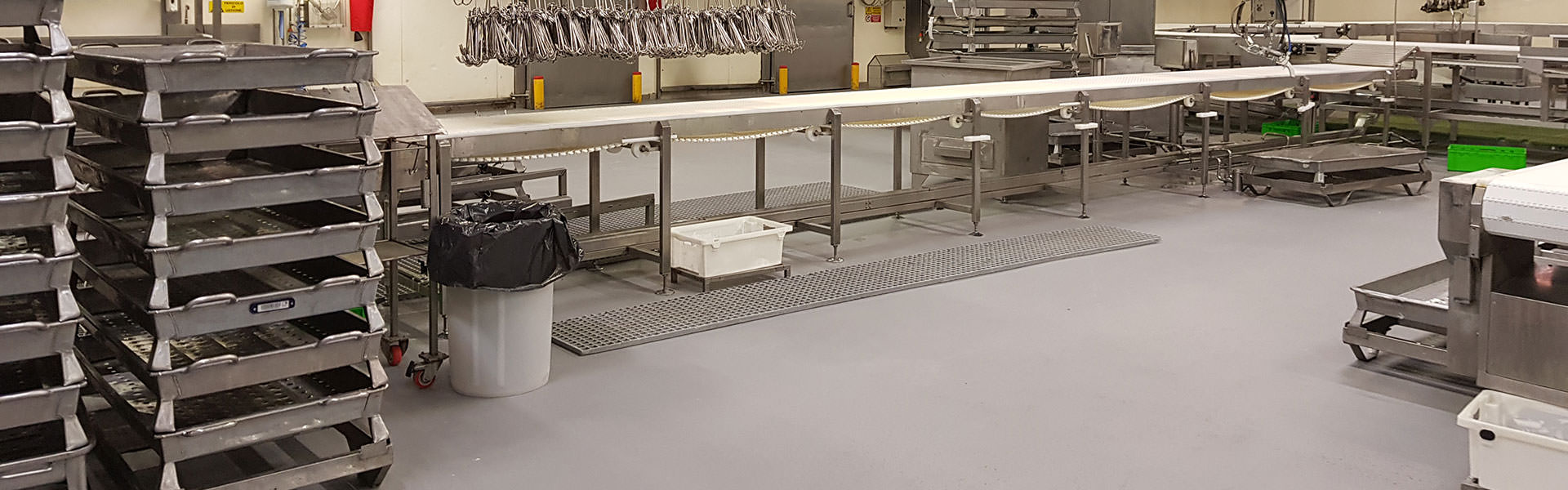 Pavimenti in resina per industrie alimentari