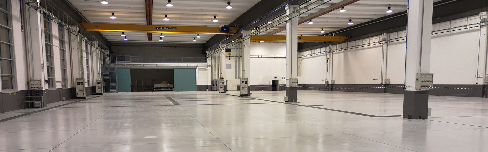 Pavimenti in resina per industrie metalmeccaniche